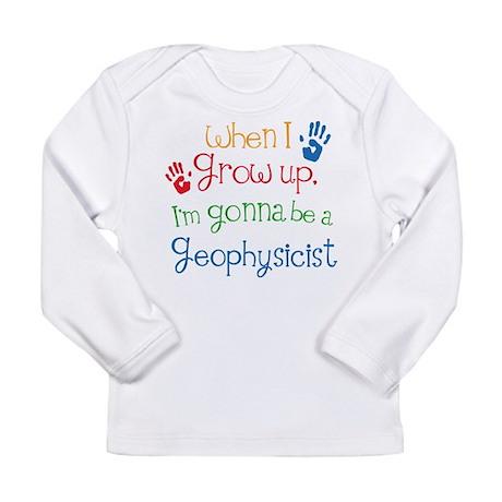 Future Geophysicist Long Sleeve Infant T-Shirt