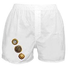 Steampunk Uhr Boxer Shorts