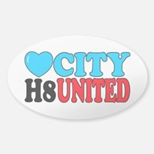 Love City H8 United Decal