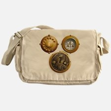 Steampunk Uhr Messenger Bag