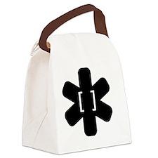 The LINGUIST List Canvas Lunch Bag