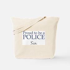 Police: Son Tote Bag