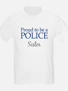 Police: Sister Kids T-Shirt