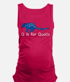 Quolls 10 Maternity Tank Top