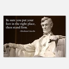 Lincoln Inspirational Quo Postcards (Package of 8)