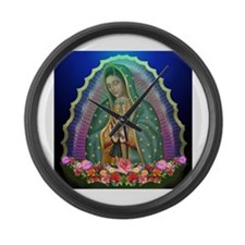 Guadalupe Glow Large Wall Clock