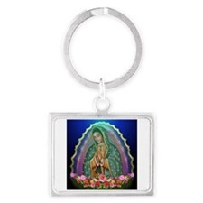 Guadalupe Glow Landscape Keychain