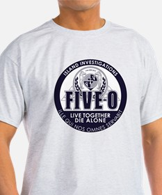 T-Shirt Colours With 5-0 Lost Mashup Seal