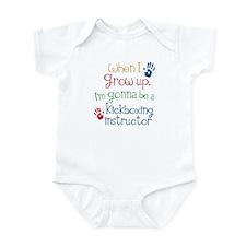 Future Kickboxing instructor Infant Bodysuit