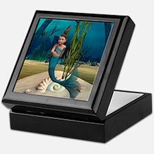 Little Mermaid Keepsake Box
