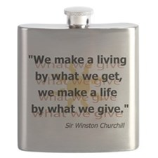 What We Give Flask