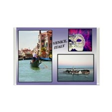 Views Of Venice Italy Rectangle Magnet