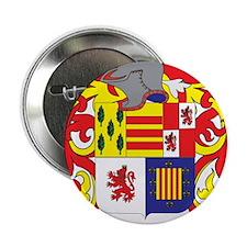 """Ferrario Coat of Arms 2.25"""" Button"""