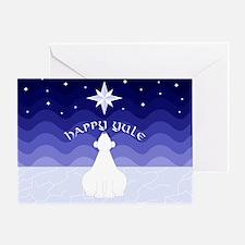 Polar Star Greeting Card