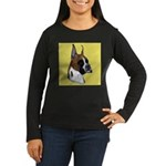 BOXERS Women's Long Sleeve Dark T-Shirt