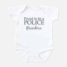 Police: Grandma Infant Bodysuit
