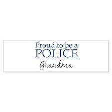 Police: Grandma Bumper Bumper Sticker