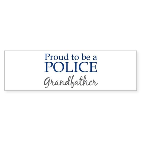 Police: Grandfather Bumper Sticker