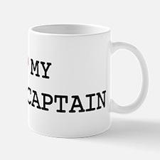 I Love POLICE CAPTAIN Mug