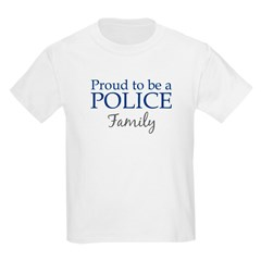 Police: Family Kids T-Shirt
