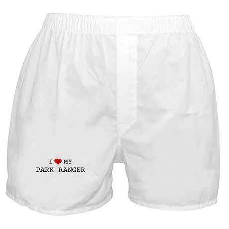 I Love PARK RANGER Boxer Shorts