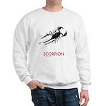 Scorpion Sweatshirt (Watercolor)