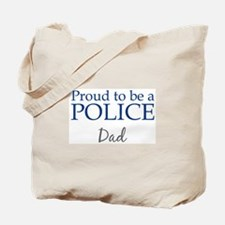 Police: Dad Tote Bag