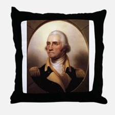 Washington Portrait Throw Pillow
