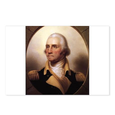 Washington Portrait Postcards (Package of 8)