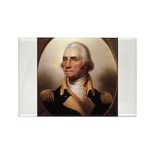Washington Portrait Rectangle Magnet