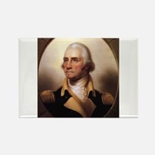Washington Portrait Rectangle Magnet