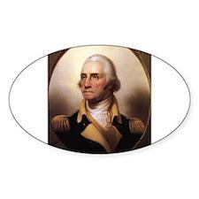 Washington Portrait Oval Decal