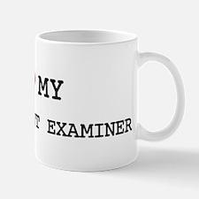 I Love LATENT PRINT EXAMINER Mug