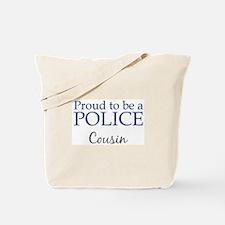 Police: Cousin Tote Bag