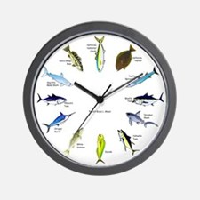 Southern California Sportfishing Clock Wall Clock