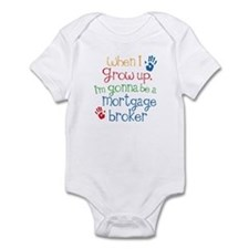 Future Mortgage broker Infant Bodysuit