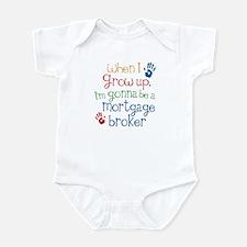 Future Mortgage broker Infant Bodysuit