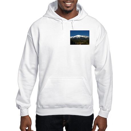 Hooded Sweatshirt - Sierra Blanca / Apache Summit