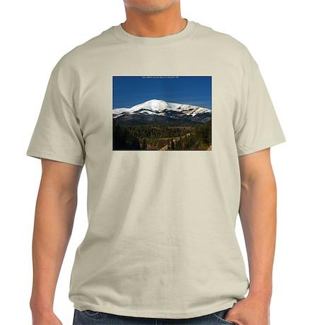 Ash Grey T-Shirt - Sierra Blanca / Apache Summit