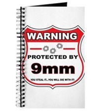 protected by 9mm shield Journal