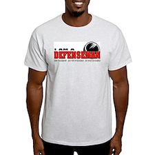 Defenseman Ash Grey T-Shirt