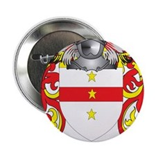 """Ferrucci Coat of Arms 2.25"""" Button"""