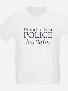 Police: Big Sister Kids T-Shirt