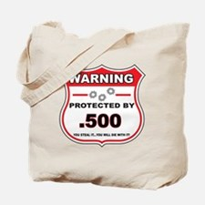 protected by 500 shield Tote Bag