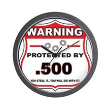 protected by 500 shield Wall Clock