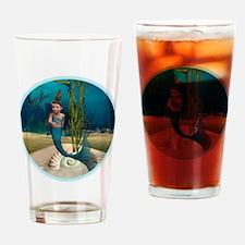 Little Mermaid Drinking Glass