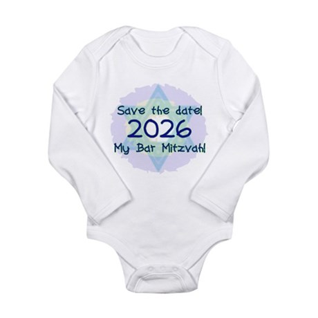 My Bar Mitzvah Long Sleeve Infant Bodysuit