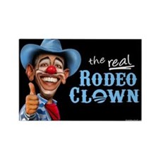 Obama Rodeo Clown Rectangle Magnet