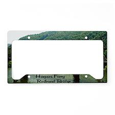 Harpers Ferry Bridge License Plate Holder