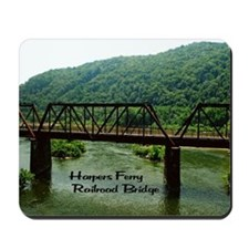 Harpers Ferry Bridge Mousepad